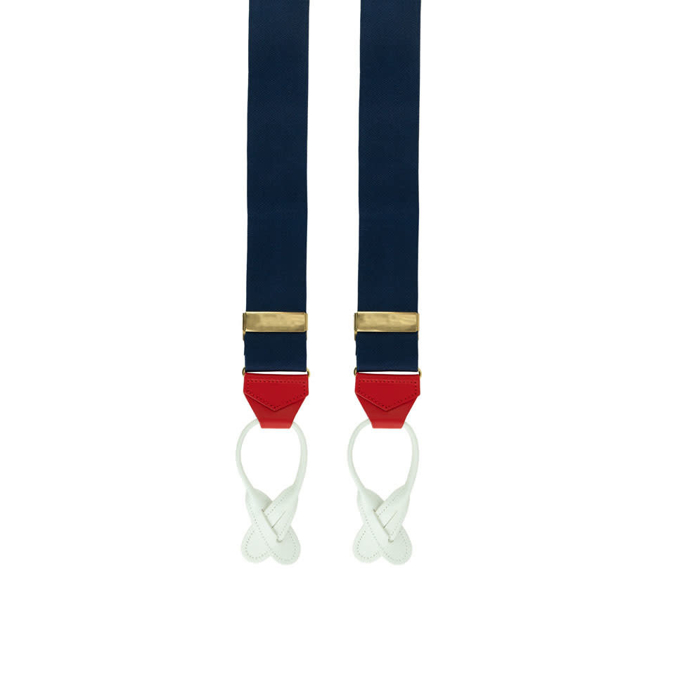 Silk Braces - Red, White, Blue