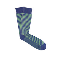 Thick Ribbed Striped Socks