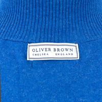 Berrow Cotton Cashmere Gilet - Navy/Regatta
