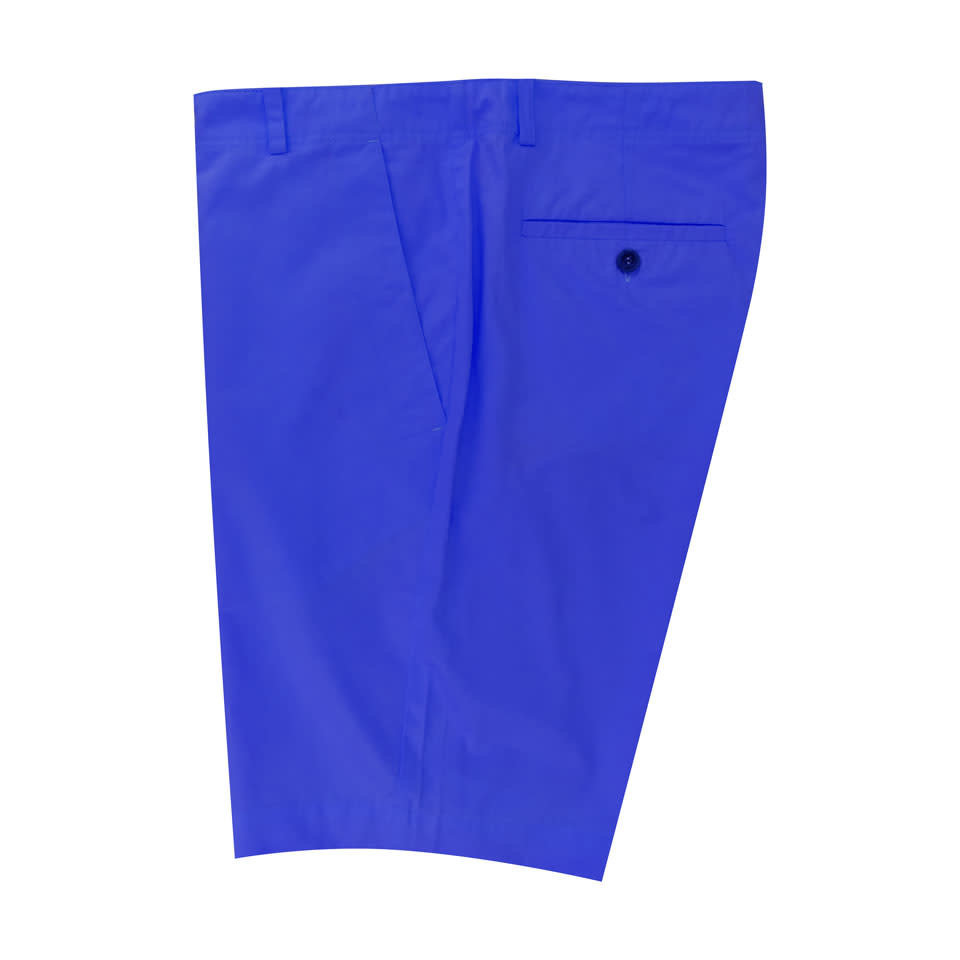 Lightweight Cotton Shorts - Royal