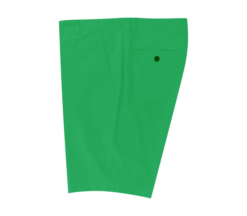 Lightweight Cotton Shorts - Emerald
