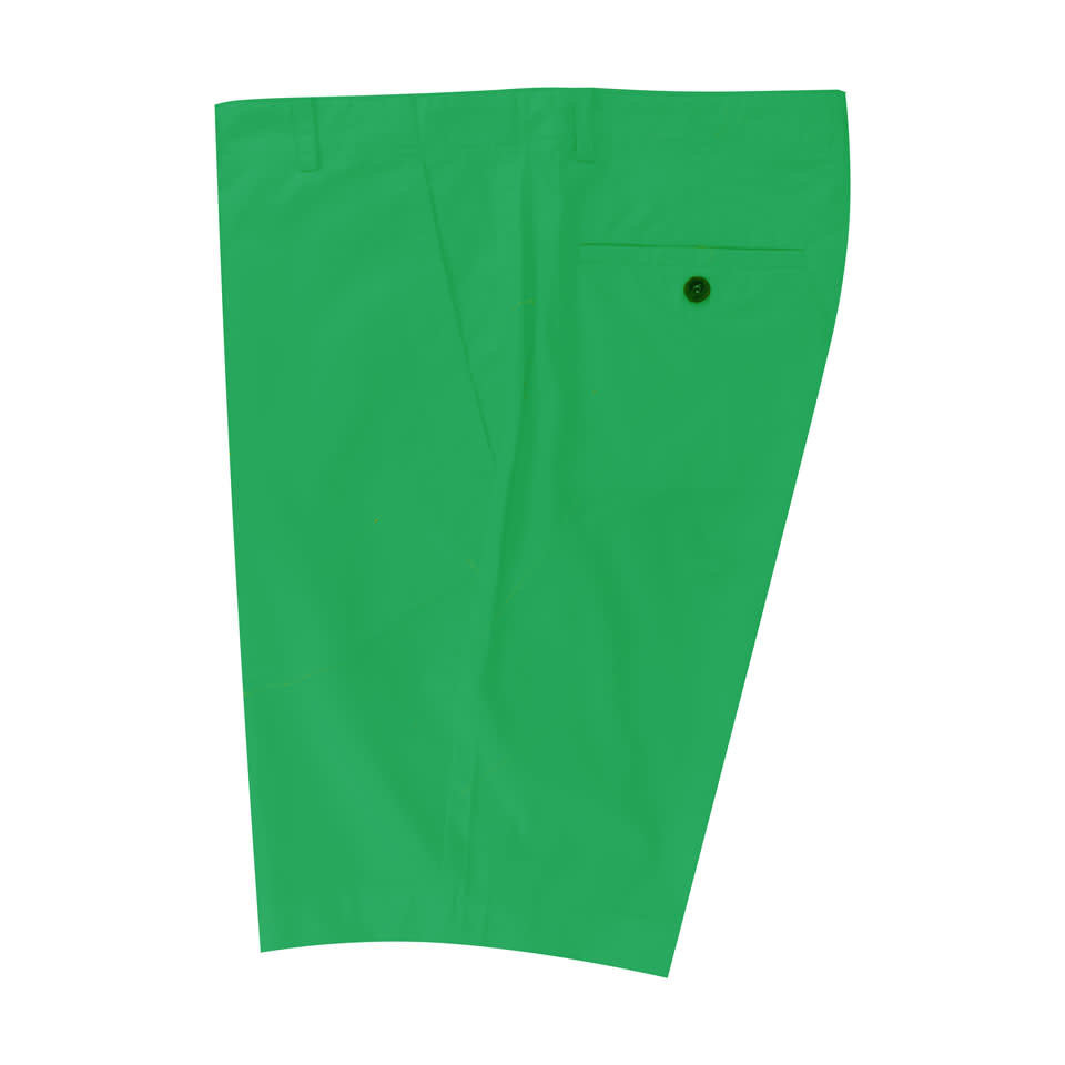 Lightweight Cotton Shorts - Emerald