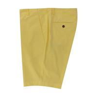 Lightweight Cotton Shorts - Yellow