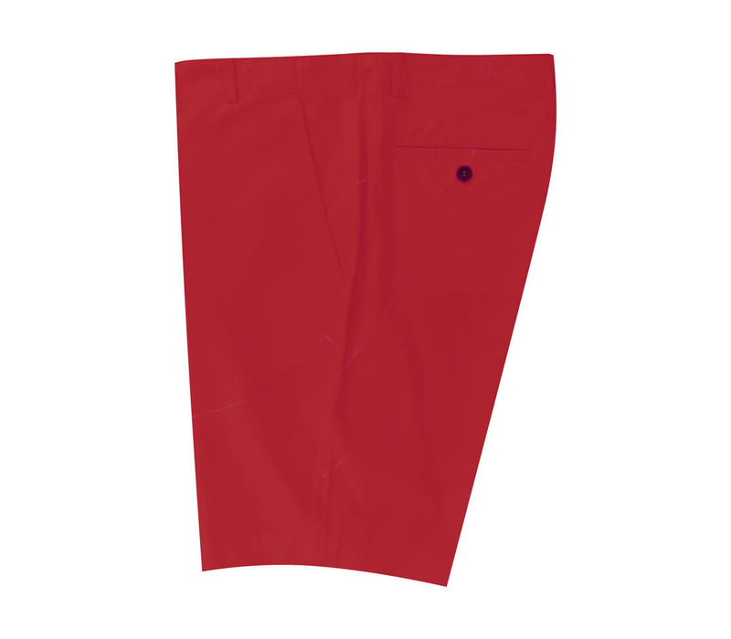 Lightweight Cotton Shorts - Red
