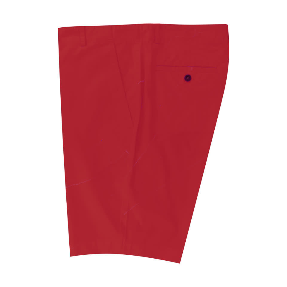 Lightweight Cotton Shorts - Red