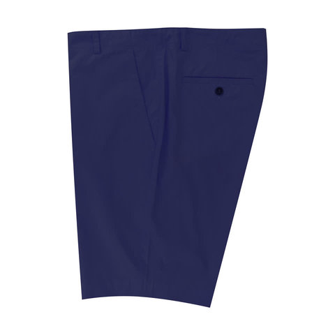 Lightweight Cotton Shorts - Navy
