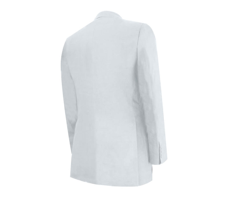 Eaton Jacket - White Linen