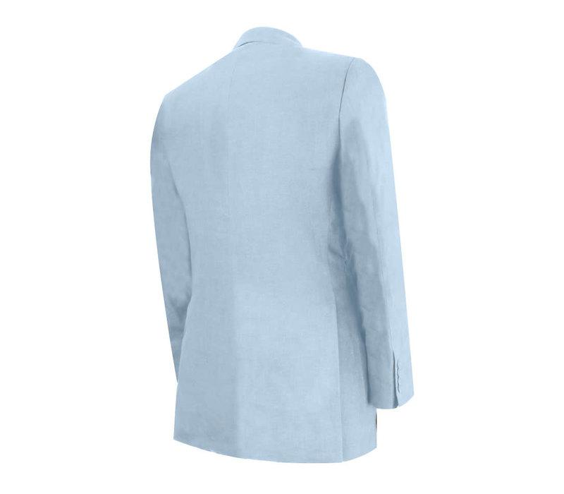 Eaton Jacket - Pale Blue Linen
