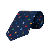 Royal Ascot Silk Tie 2019 - Navy Jockey Silks