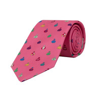 Royal Ascot Silk Tie 2019 - Pink Jockey Silks
