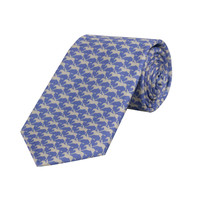 Horse and Jockey Tie - Parma and Pearl