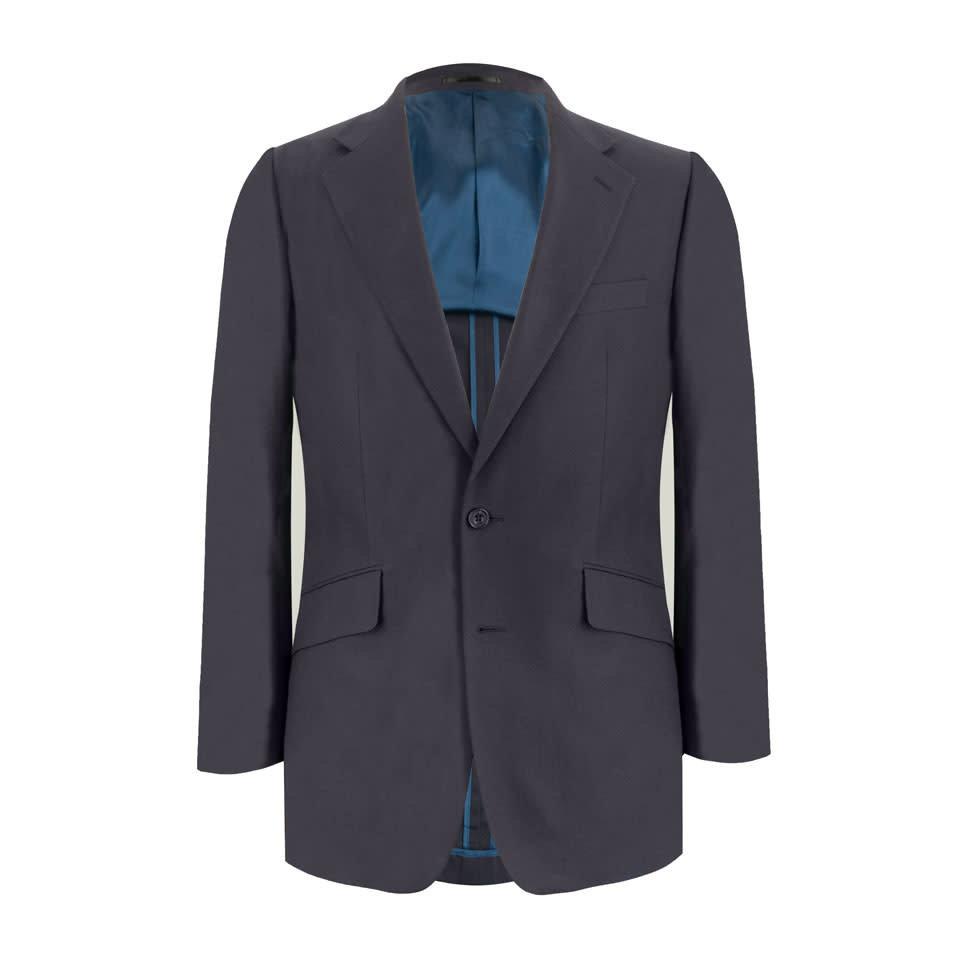 Unlined Eaton Jacket - Dusky Navy Cotton