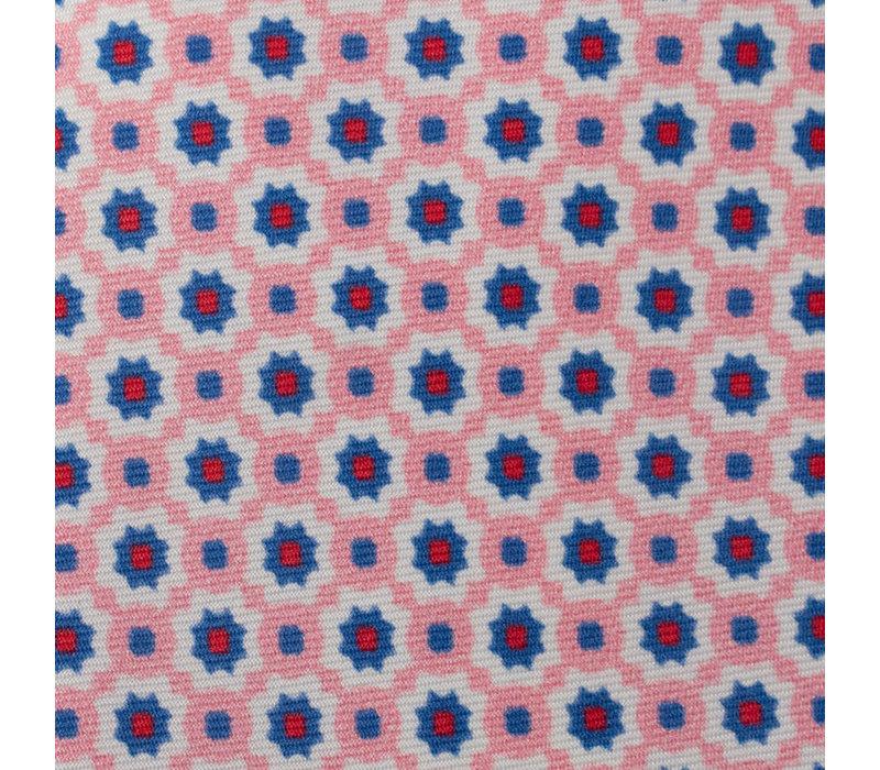 Silk Tie - Pink Daisy