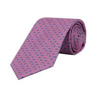 Silk Tie - Pink Snail Tie 2019