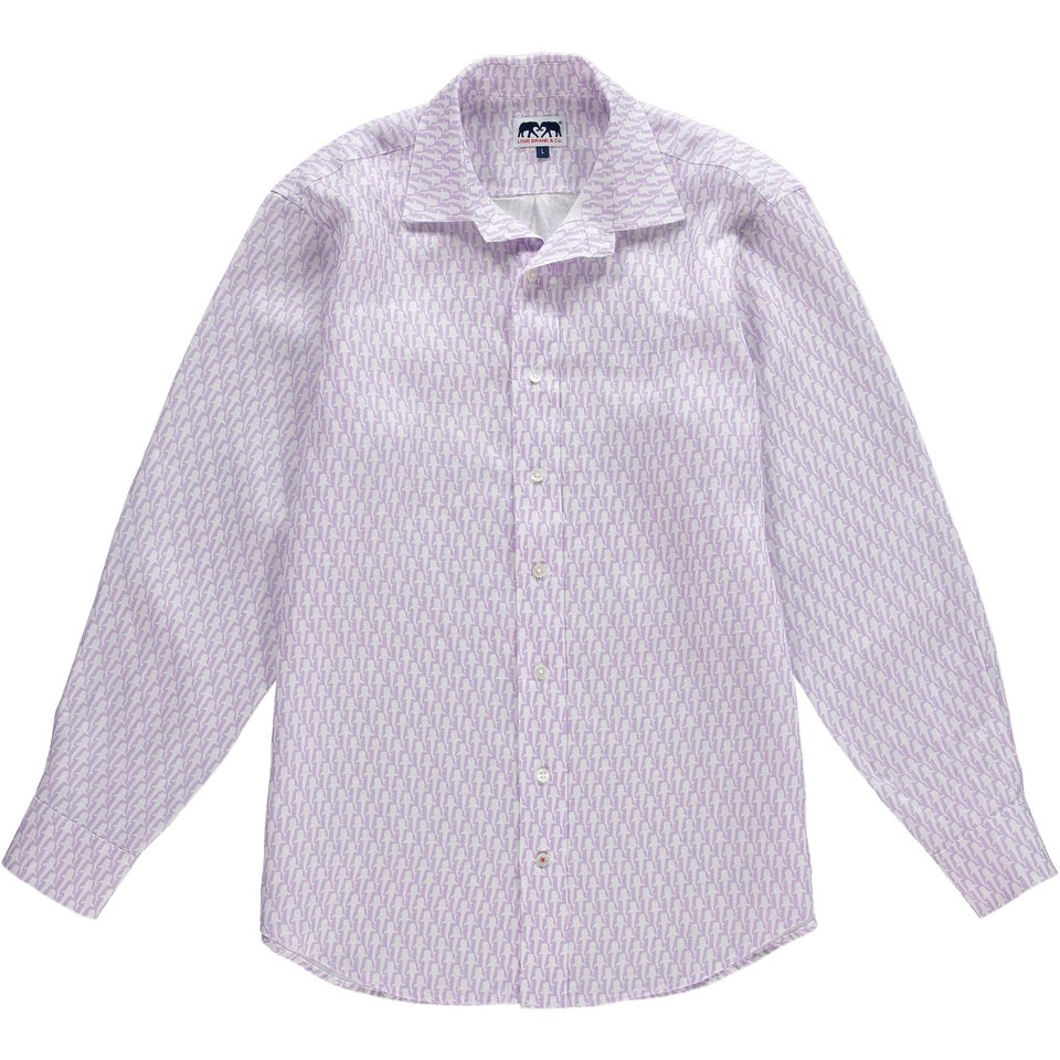 Love Brand & Co. Limited Edition Linen Shirt - Friendly Fins