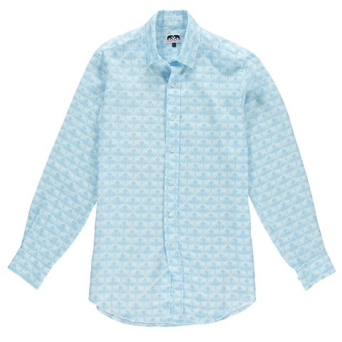 Love Brand& Co Limited Edition Linen Shirt - Elephant Dance