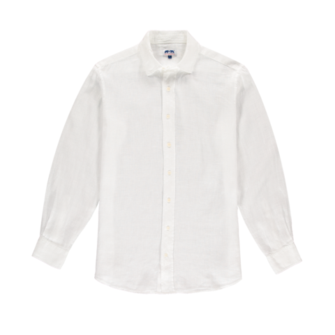 Love Brand & Co Classic Linen Shirt - White
