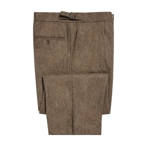 Pleated Trousers - Kinross Tweed