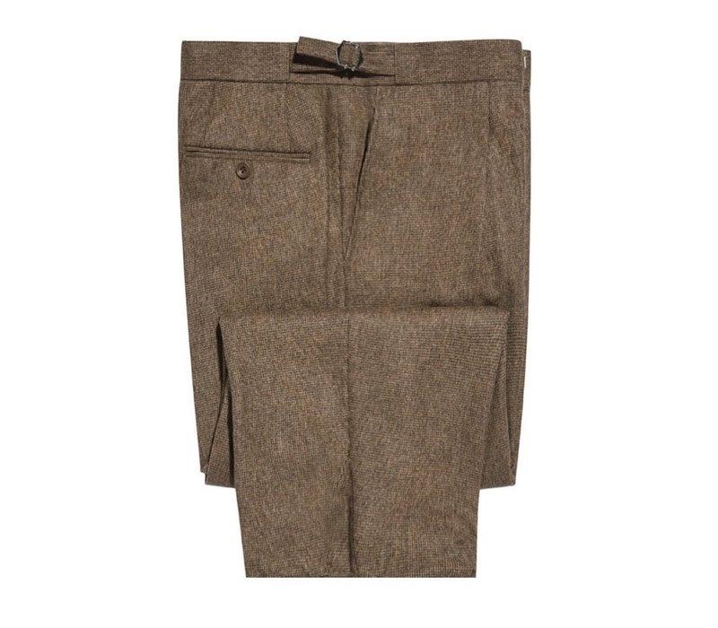 Pleated Trousers - Kinross Tweed