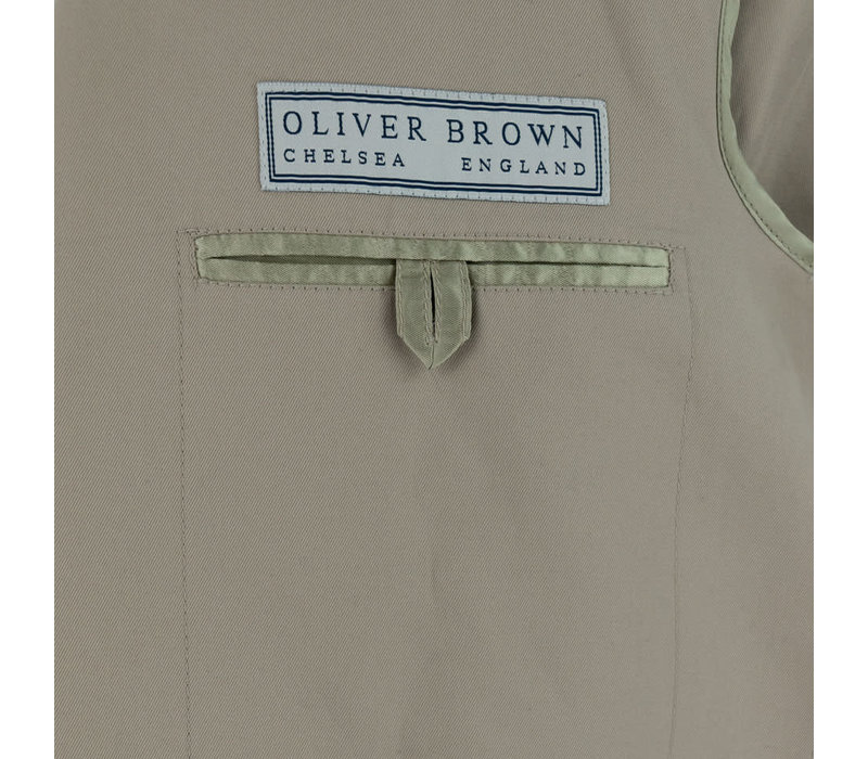 Pelham Jacket - Beige Cotton