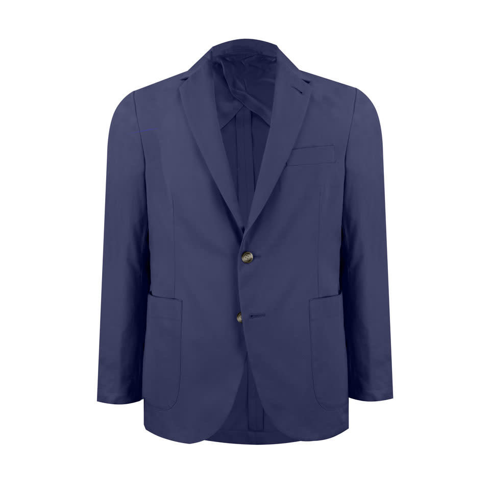 Pelham Jacket - Navy Cotton