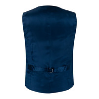 Double Breasted - Lightweight Morning Waistcoat Black