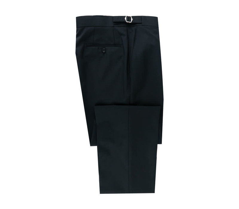 Pleated Trousers - Lightweight Black