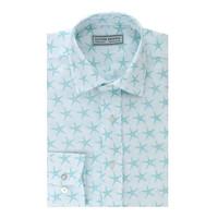 Starfish Linen Shirt - Blue