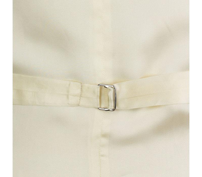 Ex-Rental Single Breasted Wool Waistcoat - Grey