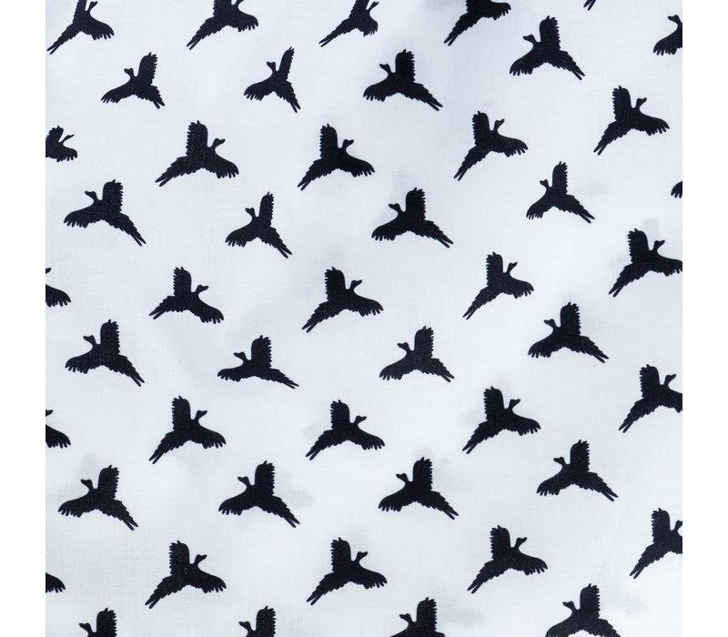 Cotton Boxer Shorts - Pheasant Silhouette