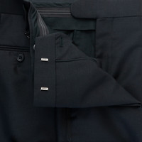 Whittaker Unlined Dinner Suit- Black