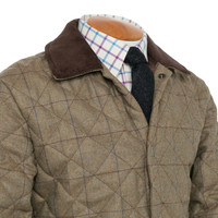 Quilted Jacket - Leith Tweed