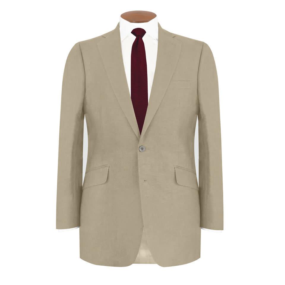 Eaton Jacket - Taupe Linen