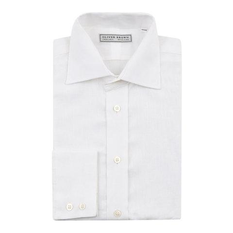 Linen Shirts - White