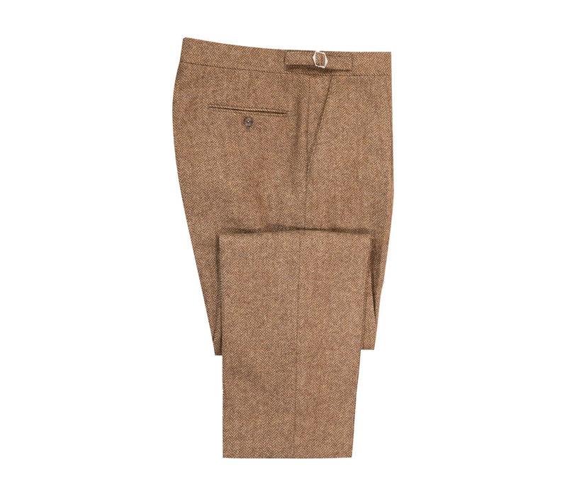 Pleated Trousers - Tummel Tweed