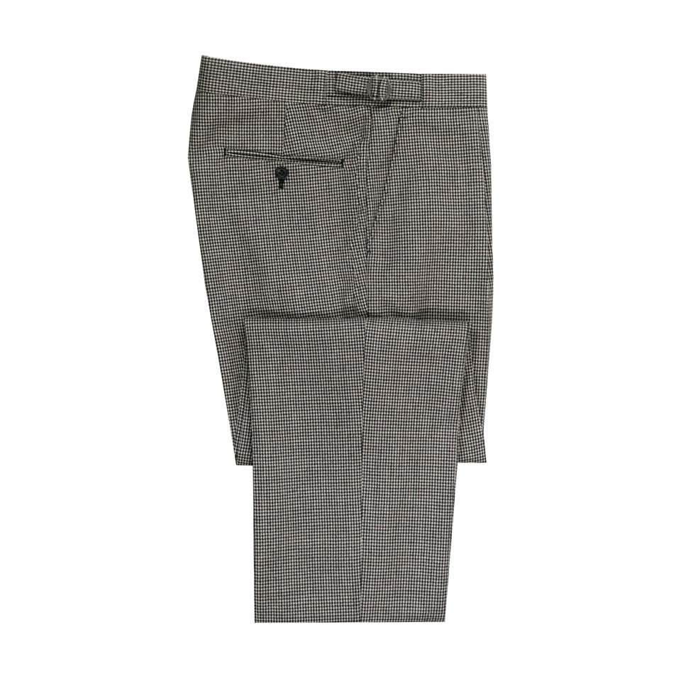 Pleated Trousers - Duchart Tweed