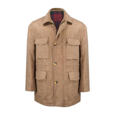 Winter Shooting Coat - Tummel Tweed