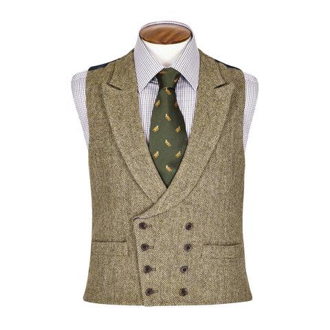 Double Breasted Waistcoat - Deveron Tweed