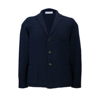 Wendover Knitted Jacket - Navy