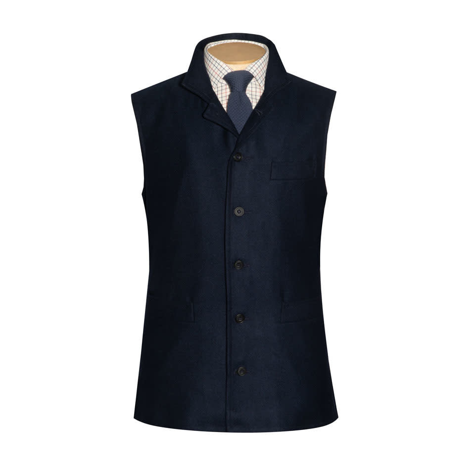 Gilet - Nairn Cashmere Tweed