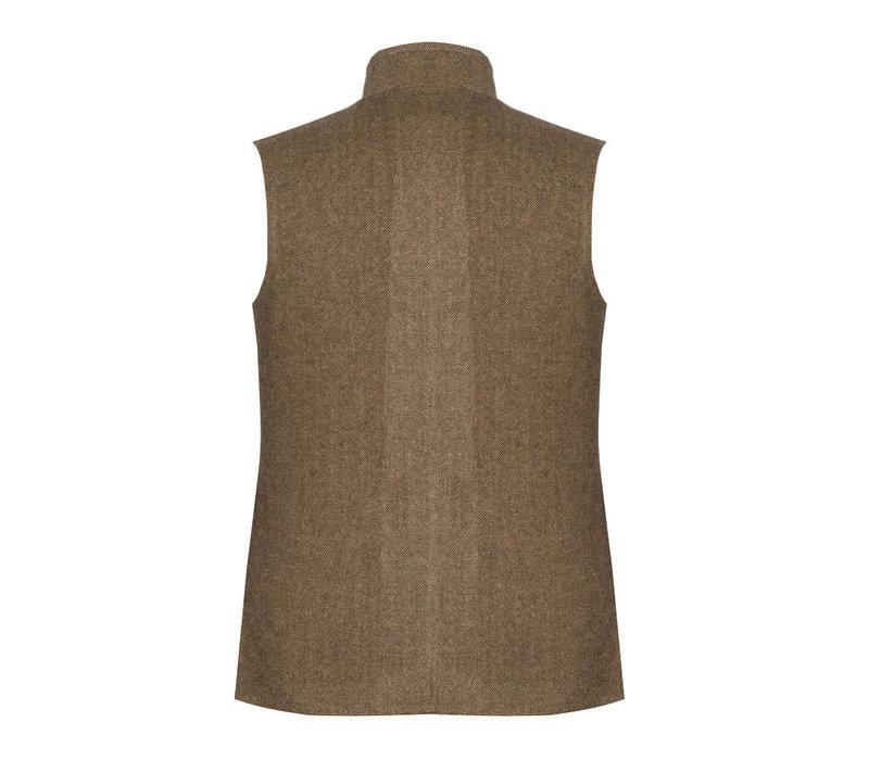 Quilted Shooting Gilet - Deveron Tweed