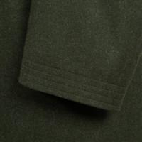 Covert Coat - Green Loden