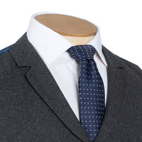Single Breasted Waistcoat - Grey Cash Blend