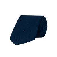 Grenadine Silk Tie - Navy