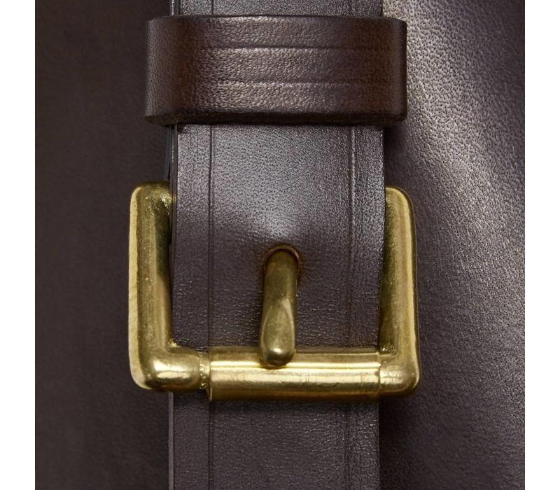 Single Plain Leather Gun Slip