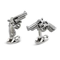 Sterling Silver Cufflinks - Revolver