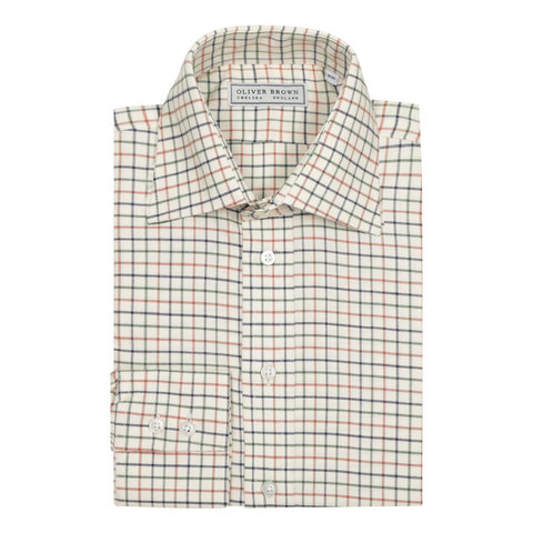 Tattersall Shirt - Green
