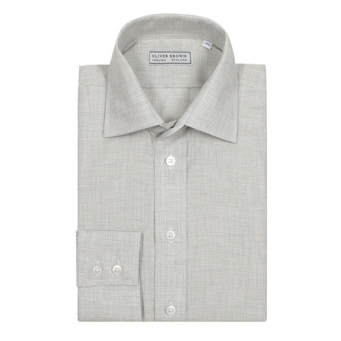 Puppytooth shirt - Grey