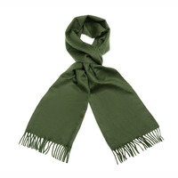 Cashmere Scarf - Green