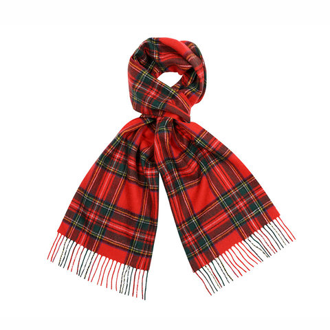 Wool Scarf - Royal Stewart